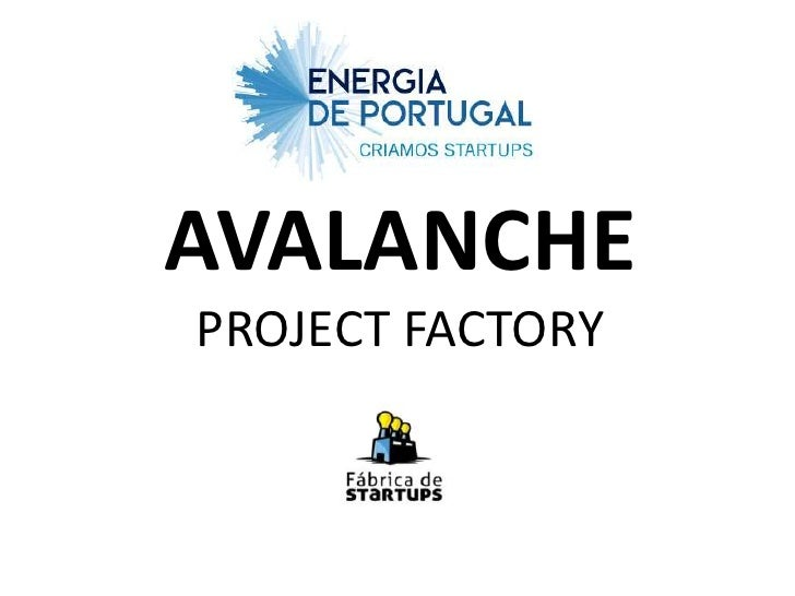 AVALANCHEPROJECT FACTORY