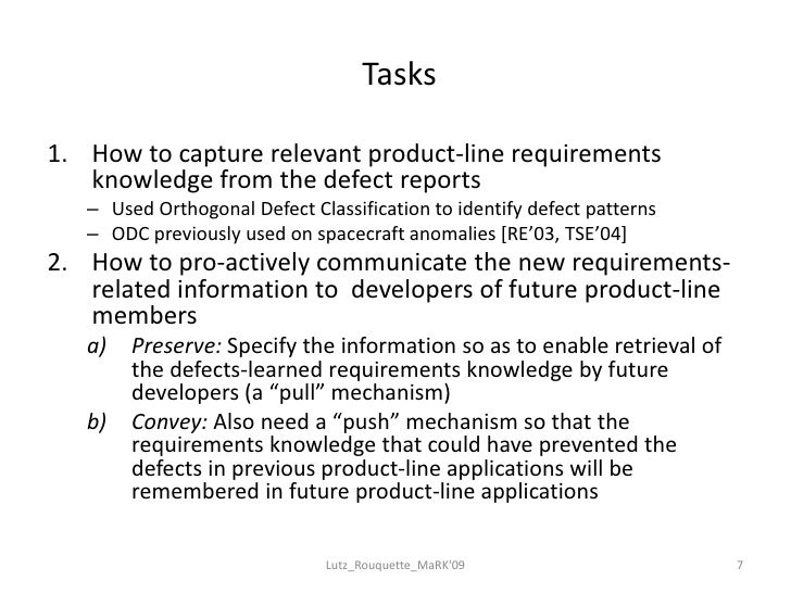 01 Using Defect Reports To Build Requirements Knowledge In Product Li