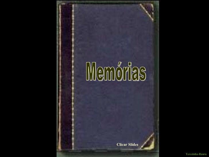 Clicar Slides Memórias