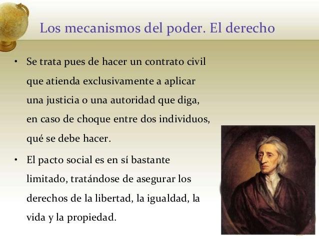 Los mecanismos del poder. El derecho• Se trata pues de hacer un contrato civilque atienda exclusivamente a aplicaruna just...