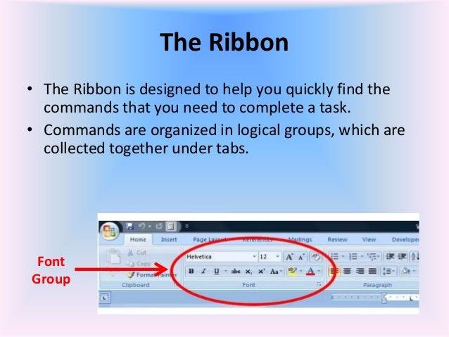 microsoft word how to show toolbar