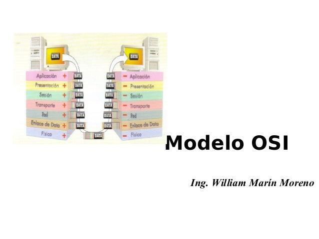 Ing. William Marín Moreno Modelo OSI