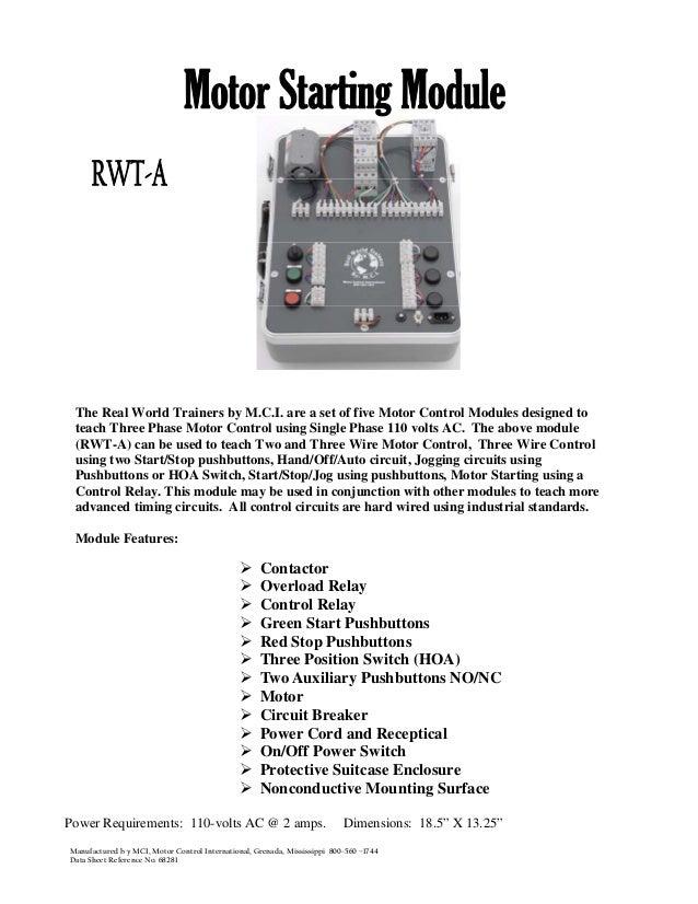 01 motor starting module_rwt-a
