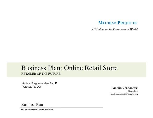 easy shoppe business plan draft
