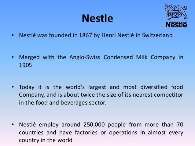 nestle inbound logistics