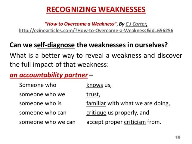 Leadership Nfmt 2013 Strengths Amp Weaknesses