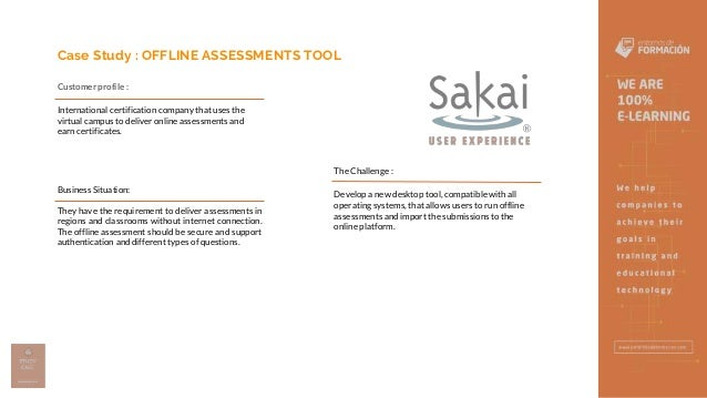 Offline Assesments Tool - Entornos de Formación Slide 2