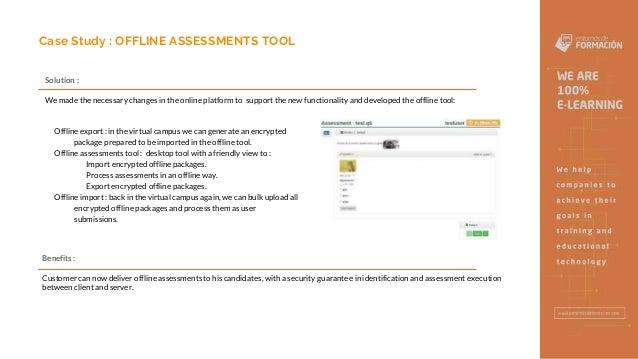 Offline Assesments Tool - Entornos de Formación Slide 3