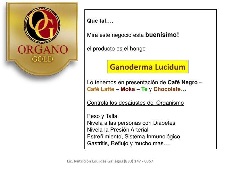 Que tal….           Mira este negocio esta buenísimo!           el producto es el hongo                       Ganoderma Lu...