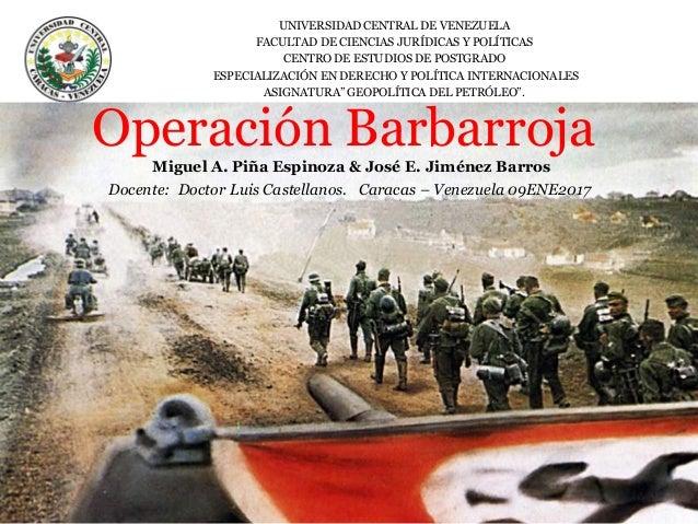 UNIVERSIDAD CENTRAL DE VENEZUELA FACULTAD DE CIENCIAS JURÍDICAS Y POLÍTICAS CENTRO DE ESTUDIOS DE POSTGRADO ESPECIALIZACIÓ...