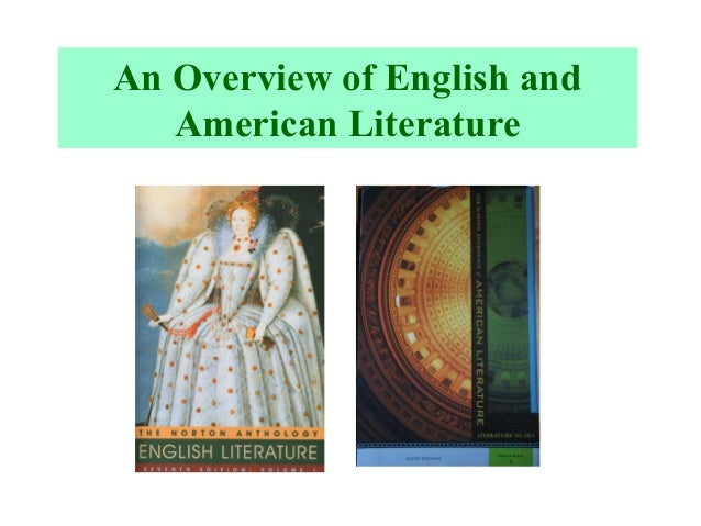 An Overview of English and American Literature