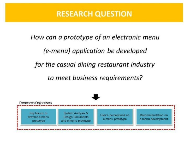 SOFTWARE DEVELOPMENT PROCESSES FOR E-MENU APPLICATION                    BASED ON RAD, PROTOTYING AND DIRECT OBSERVATION  ...