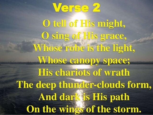 o worship the king pdf