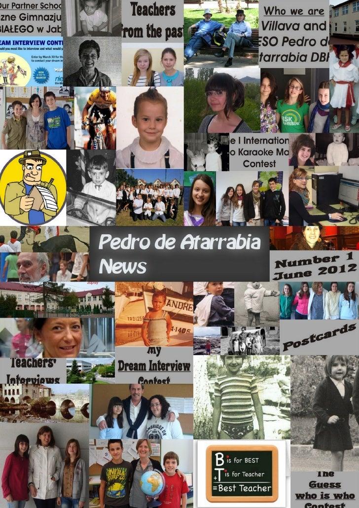 01 Pedro de Atarrabia News (June 2012)