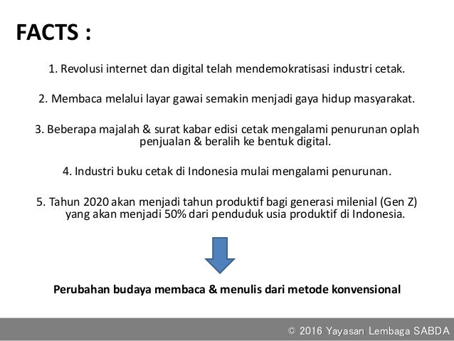 Peluang menulis di era digital Slide 2