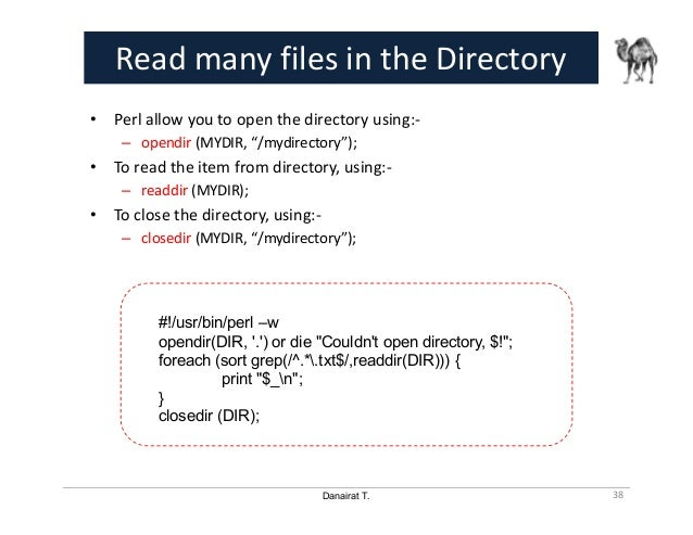 Perl for System Automation - 01 Advanced File Processing