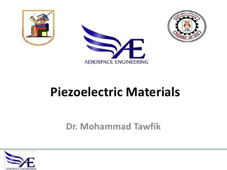 01 Piezoelectric Material