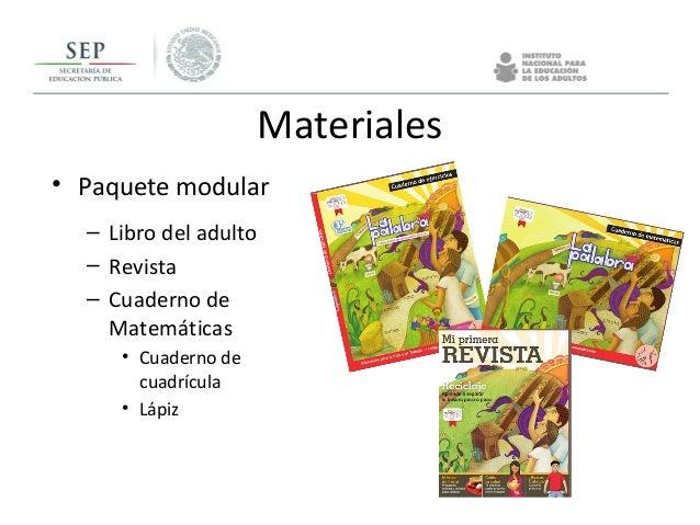 Materiales Paquete para el alfabetizador La palabra – Guía • Método Palabra generadora • Fichas didácticas Lengua y comuni...