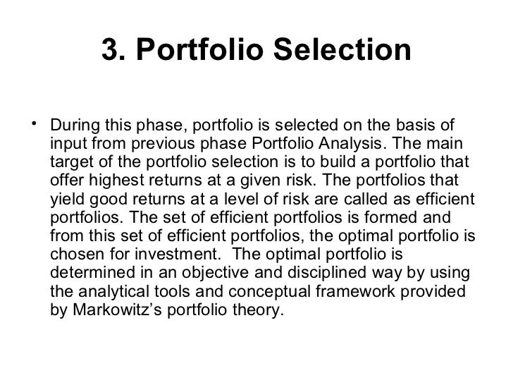Introduction portfolio management thecheapjerseys Choice Image