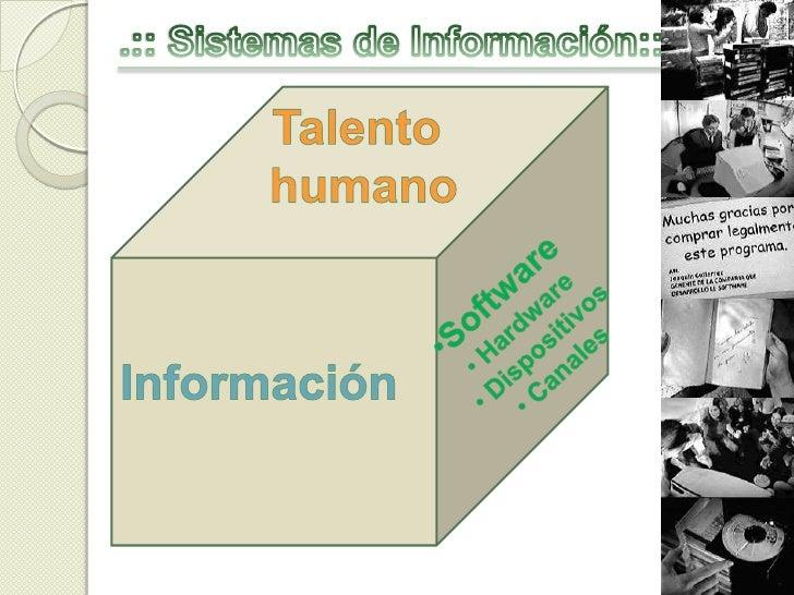 .:: Sistemas de Información::.<br />Talento <br />humano<br /><ul><li>Software