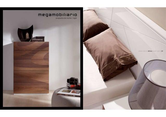 Programa de noche. Dormitorios