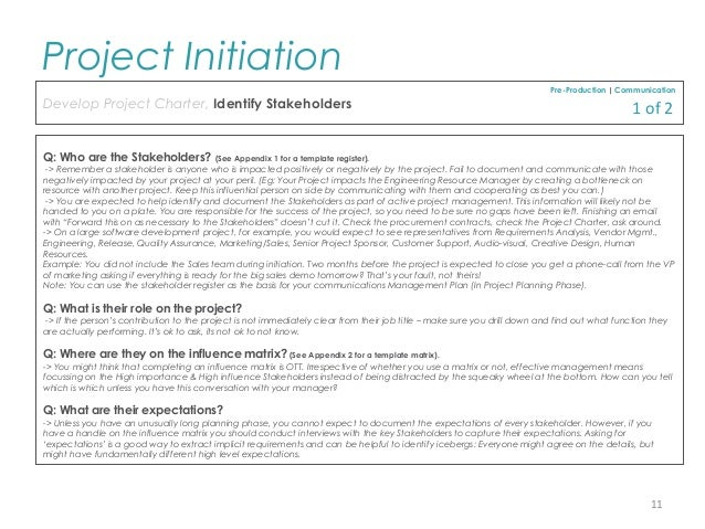 project initiation document Writing a detailed and accurate project initiation document quickly is an art every project manager has to master click here and find out more at my-project.