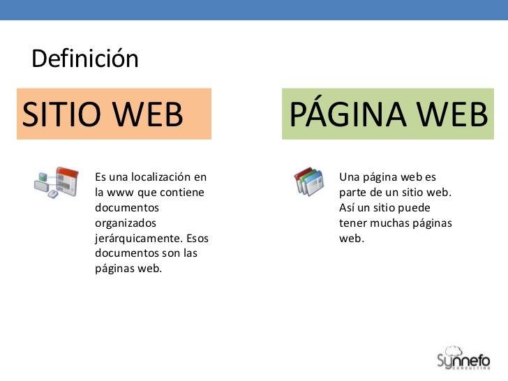 Diferencia entre sitio web y p gina web for Que es una pagina virtual