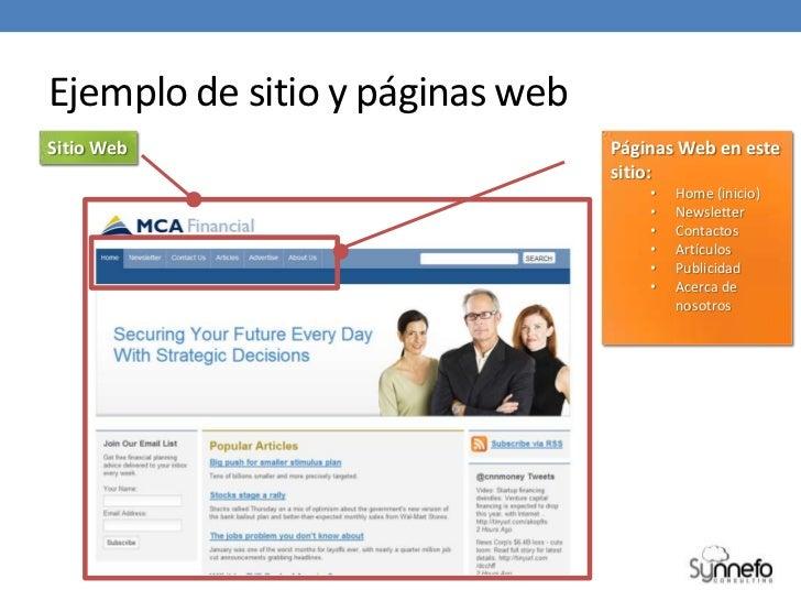 Diferencia entre sitio web y p gina web for Paginas web sobre turismo