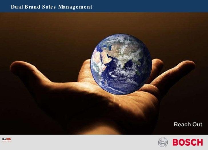 Dual Brand Sales Management