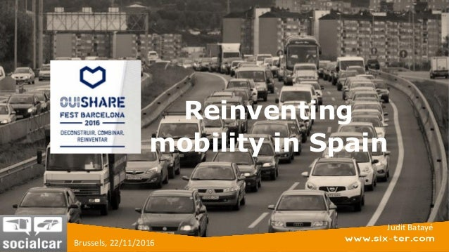 Reinventig Mobility In Spain