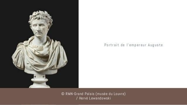 Portrait de l'empereur Auguste © RMN-Grand Palais (musée du Louvre) / Hervé Lewandowski