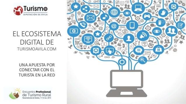 EL ECOSISTEMA  DIGITAL DE  TURISMOAVILA.COM  UNA APUESTA POR  CONECTAR CON EL  TURISTA EN LA RED