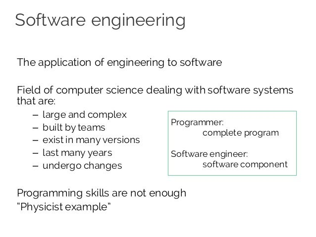 principles of software engg Seven basic principles of software engineering barry w boehm trw defense systems group this paper attempts to distill the large number of individual aphorisms on good.
