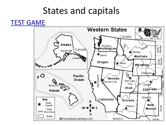 West and Midwest geography