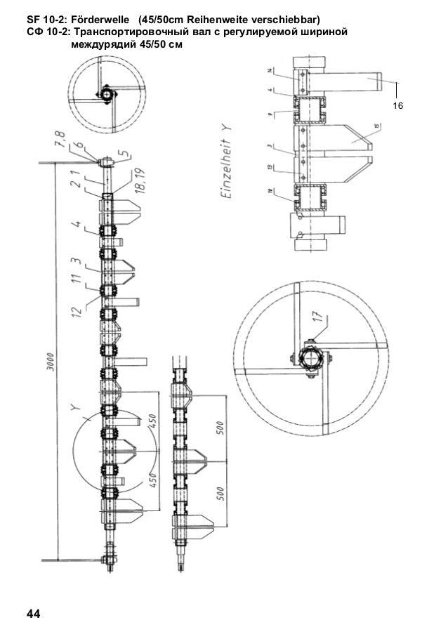 Franz kleine sf-10-2 parts catalogue
