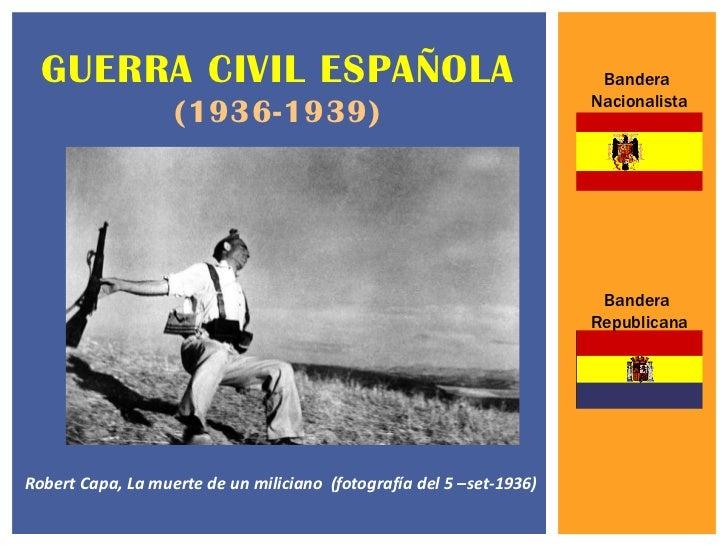 GUERRA CIVIL ESPAÑOLA                                                Bandera                                              ...