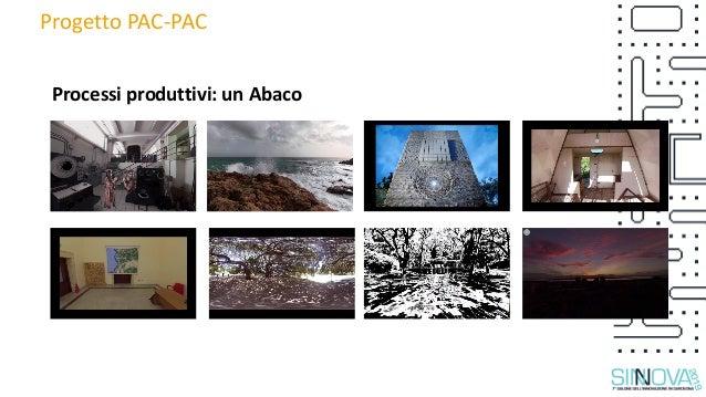 Progetto PAC-PAC Processi produttivi: un Abaco