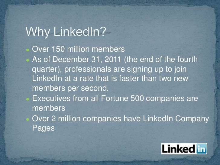  Add Company Profile:    linkedin.com/companies   Get recommendations   Customize your links to draw    interest   Can...