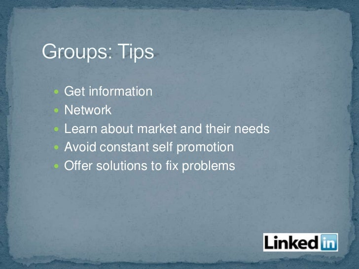 More > Answers or Linkedin.com/answers Similar to the Q&A in groups, but not limited to  the group Search answers Ask q...