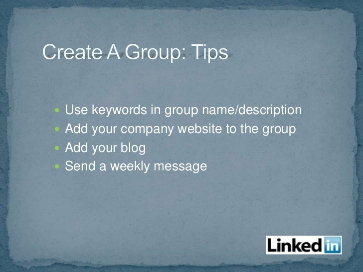  Generate leads Search keywords, groups, industries, etc.
