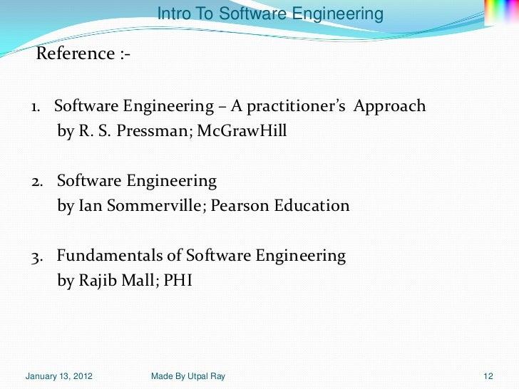 Fundamentals of software engineering by rajib mall