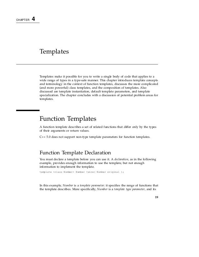 01 sun c programming guide for Template function specialization