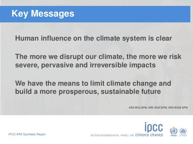 Highlights of the IPCC Fifth Assessment Report Slide 2