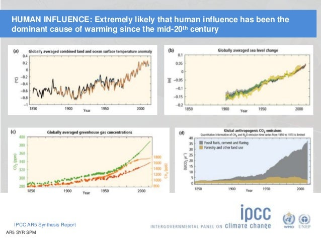 Highlights of the IPCC Fifth Assessment Report Slide 3