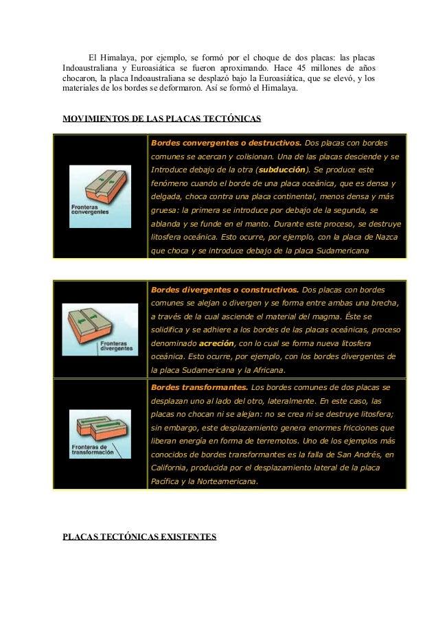 Tectónica de placas Slide 3