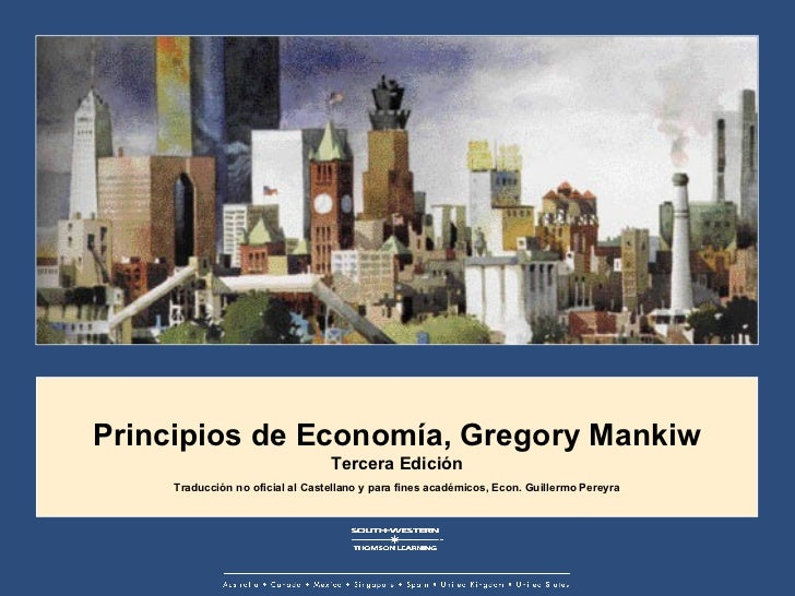 An Explanation of the Ten Principles of Economics