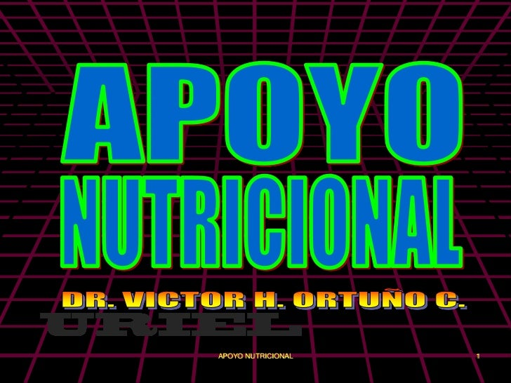 APOYO NUTRICIONAL   1