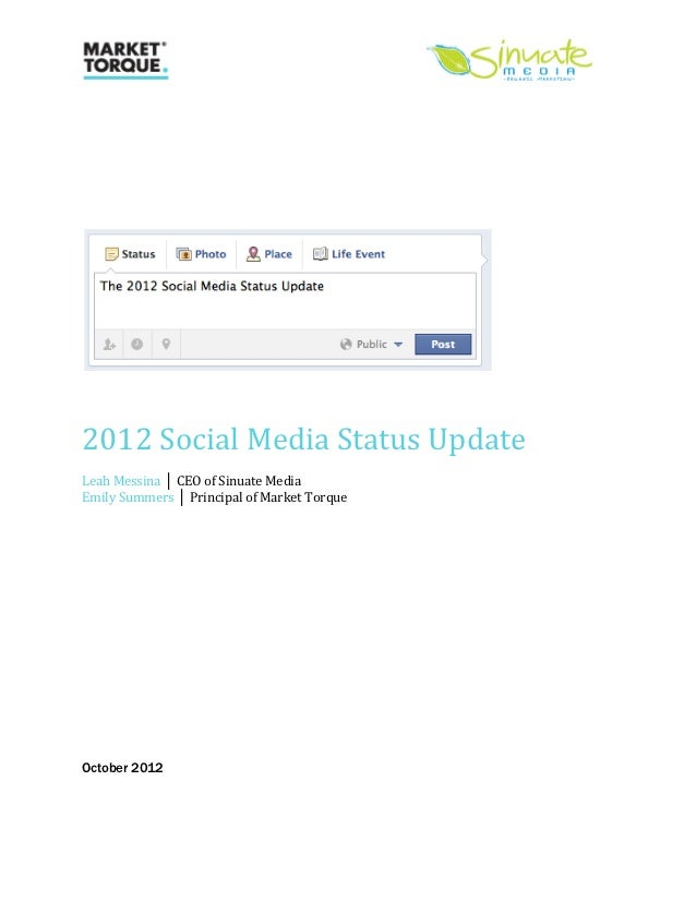 2012 Social Media...