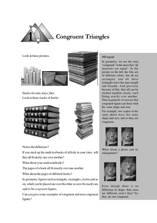 1 Look at these pictures. Stacks of coins, trays, tiles. Look at these stacks of books: Notice the difference? If you stac...