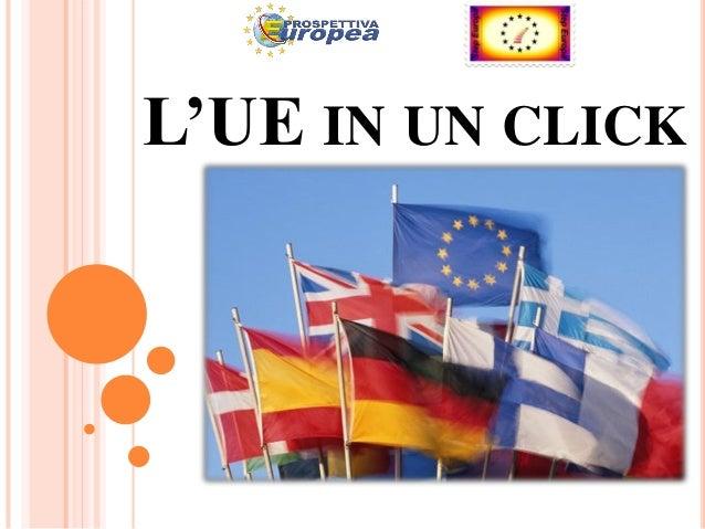 L'UE IN UN CLICK